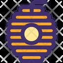 Beehive Honey Honeycomb Icon