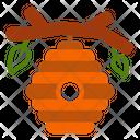 Beehive Fall Bee Icon