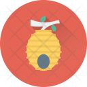 Honeycomb Honey Beehive Icon
