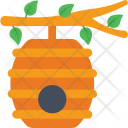 Beehive Honey Beeswax Icon