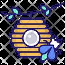 Beehive Beekeeping Apiary Icon