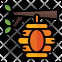 Beehive Honey Nature Icon