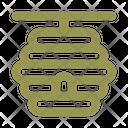 Beehive Honeycomb Beekeeping Icon