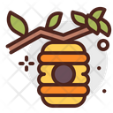 Beehive Honey Bee Icon