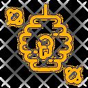 Beehive Bee Honey Icon