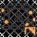 Beekeeper Farm Honeycomb Icon