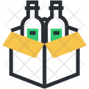 Beer Box Crate Icon