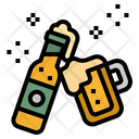 Beer Alcohol Bottle Icon