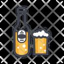 Wine Bottle Beer Bottle Whisky Bottle Icon