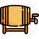 Barrel Fuel Beer Icon