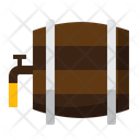 I Beer Cask Beer Barrel Beer Storage Icon