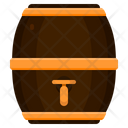 Beer Barrel Beer Keg Alcohol Icon