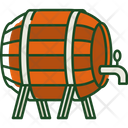 Beer Barrel Barrel Drink Icon