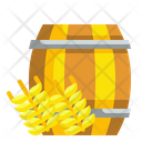 Beer Barrel Barrel Cask Icon
