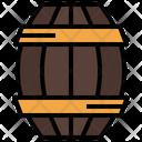 Wine Barrel Barrel Beer Keg Icon