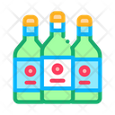 Drink Bottles Home Icon