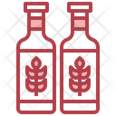 Beer Bottle Wheat Alcohol Icon