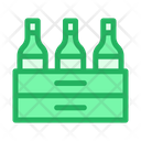 Buckets Beer Bottle Icon