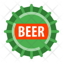Beer Bottle cap Icon