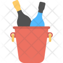 Beer Bottles Party Icon