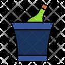 Bucket Ice Bucket Beverage Icon