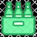 Bucket Bottle Beer Icon