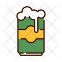 Beer Can Bee Tin Beer Icon