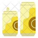 Cans Beer Beverage Icon