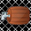 Faucet Barrel Beer Barrel Beer Cask Icon