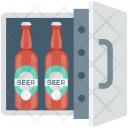 Beer Cooler Fridge Icon