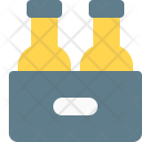Beer Bottle Crate Icon