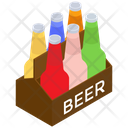 Beer Crate Vector Icon