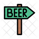 Beer Direction Board Icon