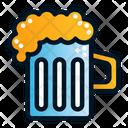 Drink Beer Glass Beer Jar Icon