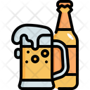Beer Pine Bottle Icon
