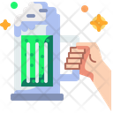 Hand Green Drink Icon