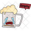 Beer Glass Empty Icon