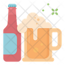 Beer jug and bottle Icon