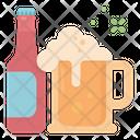 Alcohol Bottle Mug Icon