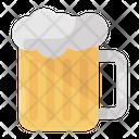 Beer Mug Beer Bottle Beer Foam Icon