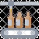 Conveyor Bottles Alcohol Icon