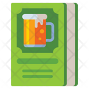 Beer Recipes Recipe Book Beer Document Icon