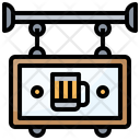 Sign Beer Bar Icon