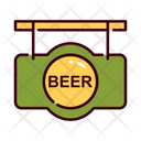 Beer Sign Bar Bar Sign Board Icon