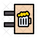 Beer Signboard Icon