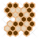 Bees Honeycomb Larvae Icon