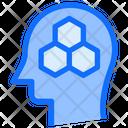 Bees Honey Brain Icon