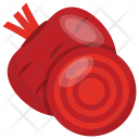 Beet Root Taproot Icon