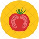 Beetroot Half Root Icon