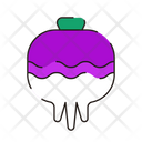 Beetroot Fresh Vegetables Icon